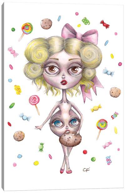 Hungry Hilda Canvas Art Print