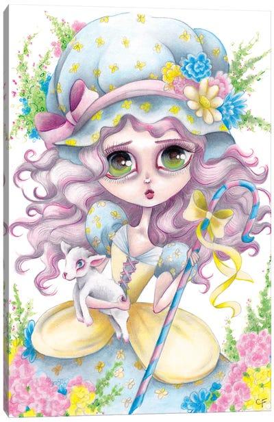 Little Bo Peep Canvas Art Print