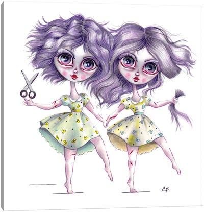 Scissor Sisters Canvas Art Print