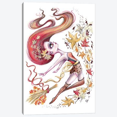 Autumn Dance Canvas Print #CFI49} by Christine Fields Canvas Art