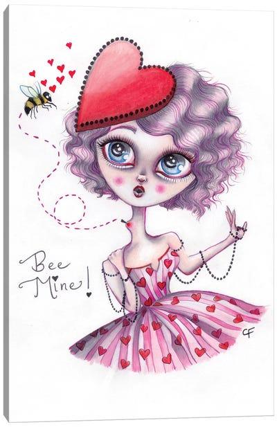 Bee Mine Canvas Art Print