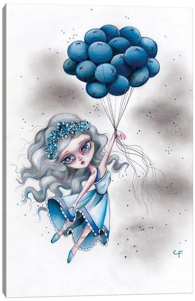 Blueberry Blues Canvas Art Print