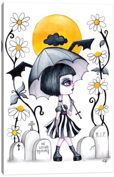 Goth Summer Canvas Art Print