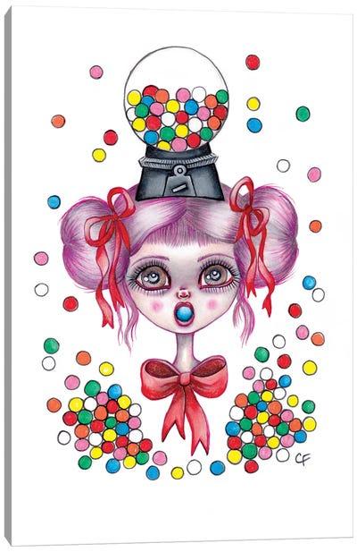 Gumball Girl Canvas Art Print