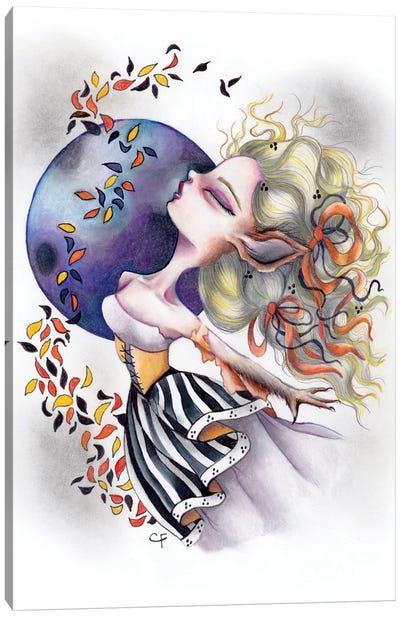 Wolf Woman Canvas Art Print