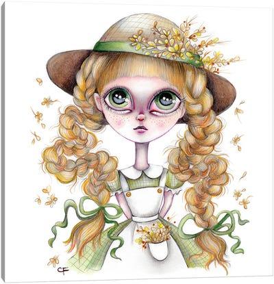 Anne Shirley Canvas Art Print
