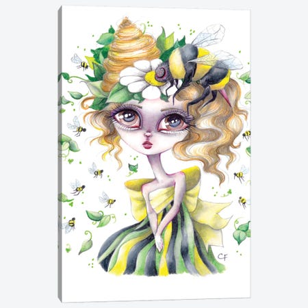 Belinda Canvas Print #CFI5} by Christine Fields Canvas Print