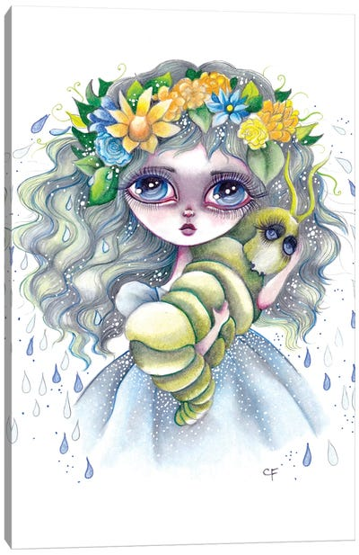 Clementine Canvas Art Print