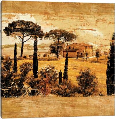 Tuscan Countryside I Canvas Art Print