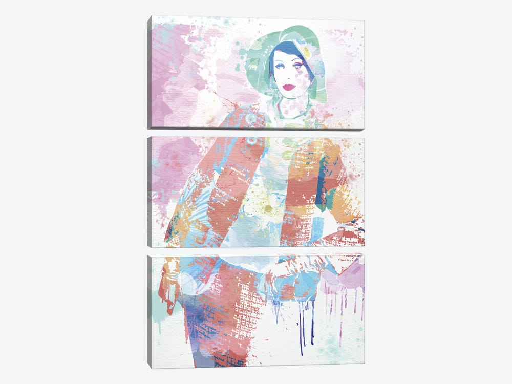 Restricted Significance by 5by5collective 3-piece Canvas Print