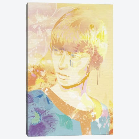 The Golden Lady Canvas Print #CFN11} by 5by5collective Canvas Art