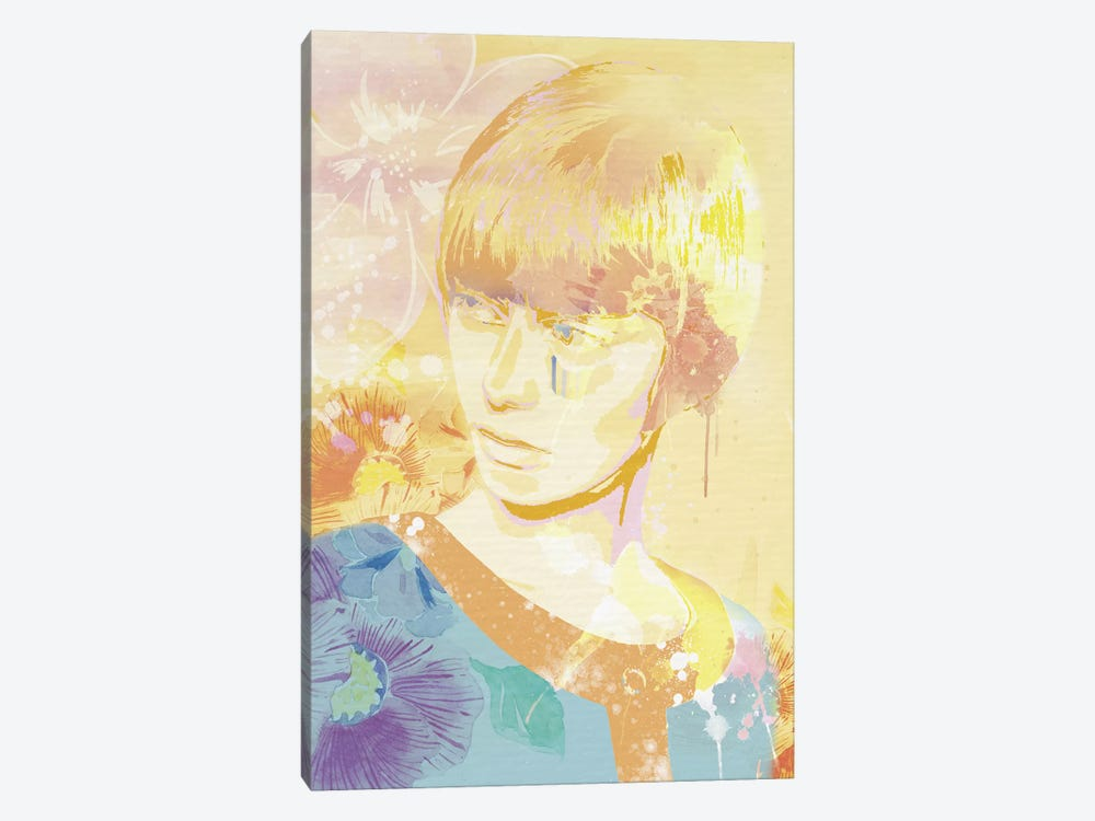 The Golden Lady by 5by5collective 1-piece Canvas Wall Art