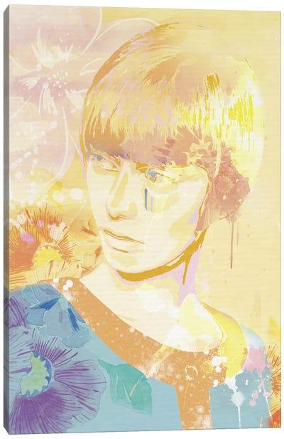 The Golden Lady Canvas Art Print