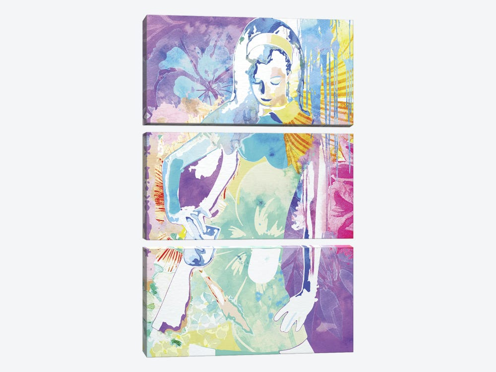 Expression of Peace by 5by5collective 3-piece Canvas Art