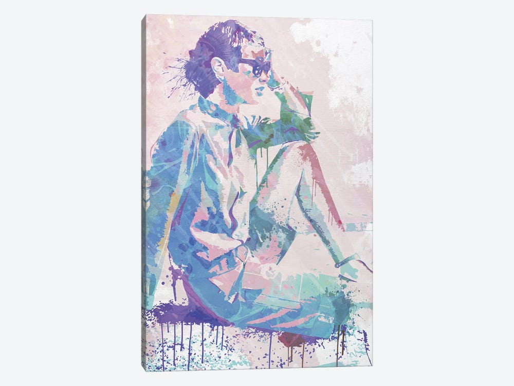 Feeling the Breeze by 5by5collective 1-piece Canvas Art Print