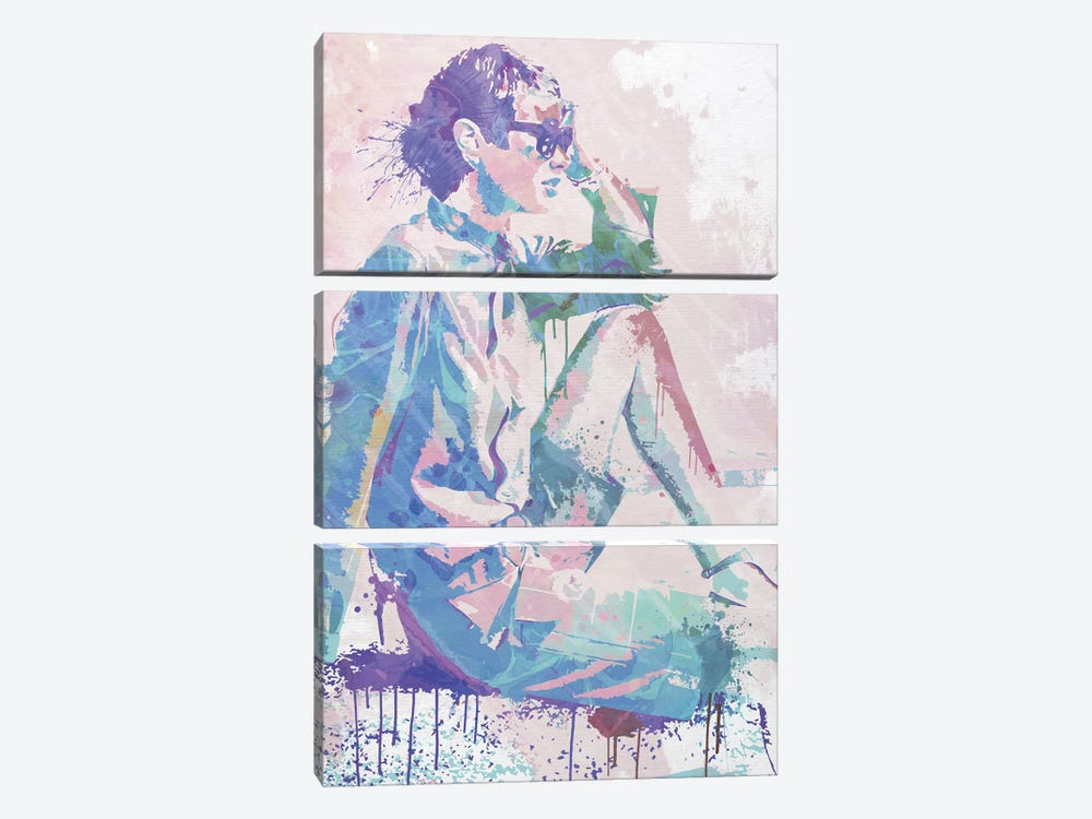 Feeling the Breeze by 5by5collective 3-piece Canvas Print