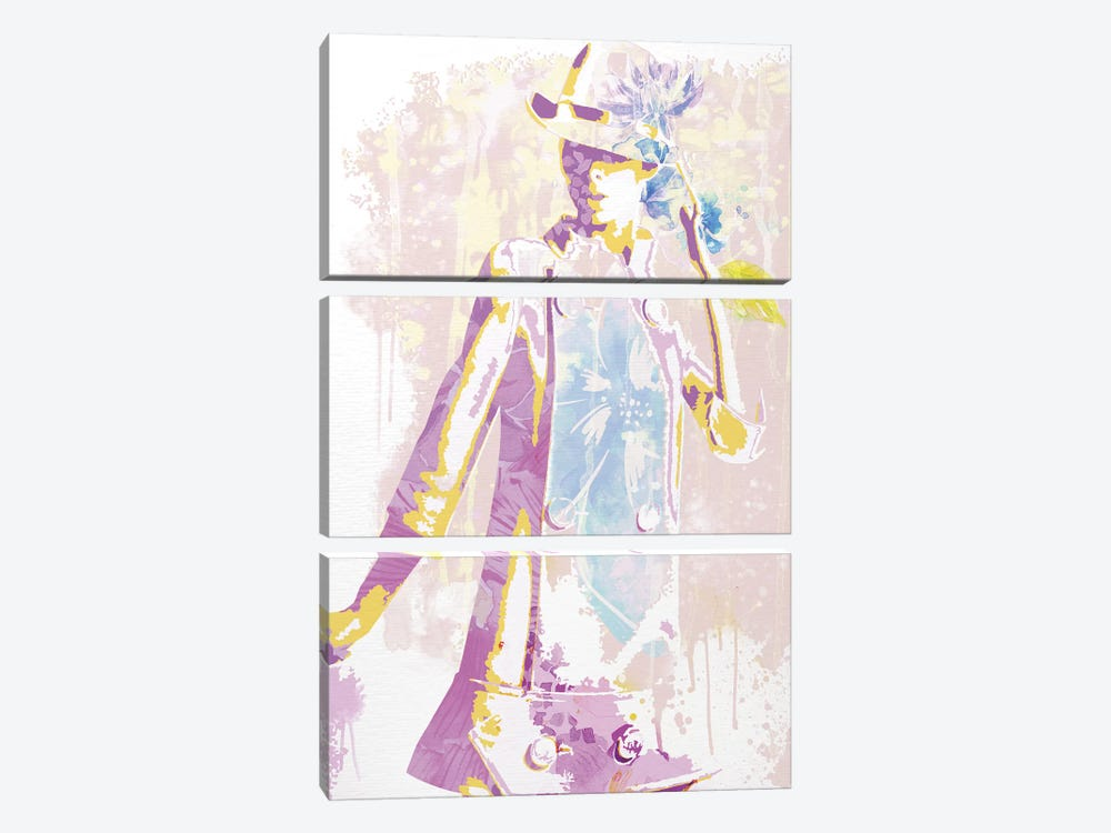 Impossible Model of Innocence by 5by5collective 3-piece Canvas Art Print