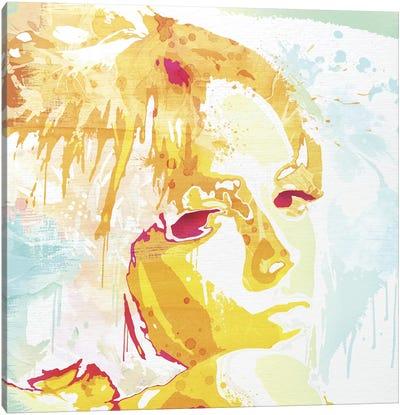 Over the Shoulder Canvas Art Print