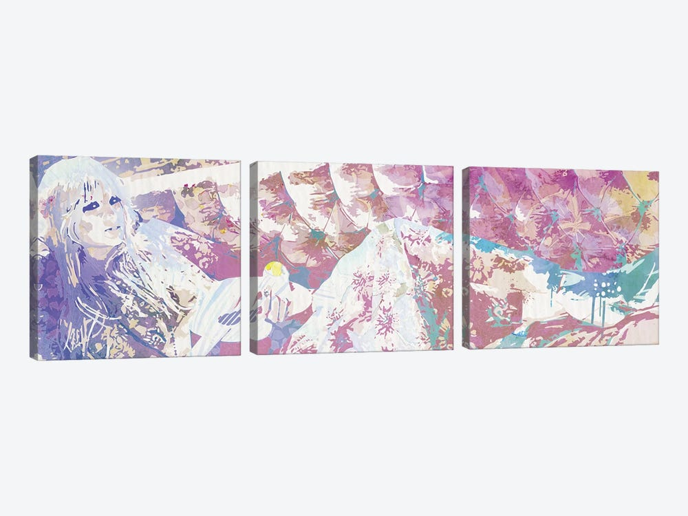 Poetry of Life by 5by5collective 3-piece Canvas Art Print