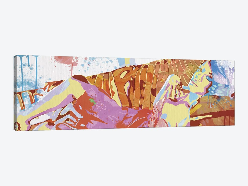 Reclining Sentimental by 5by5collective 1-piece Canvas Artwork