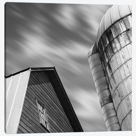 Barn & Silo Canvas Print #CFO1} by Chip Forelli Canvas Artwork