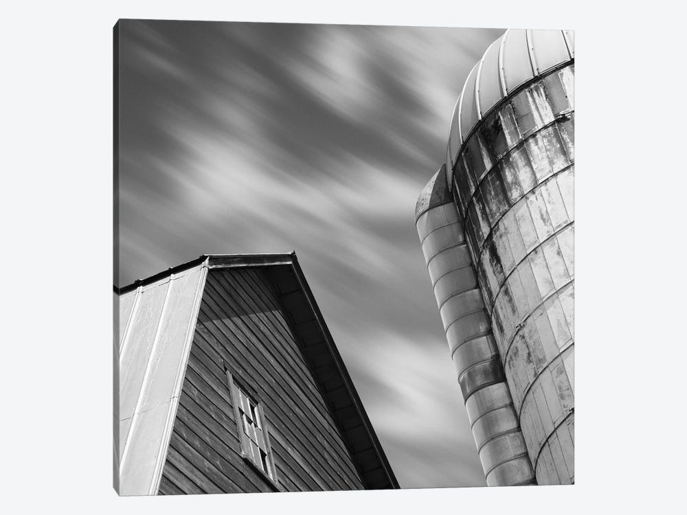Barn & Silo by Chip Forelli 1-piece Canvas Print