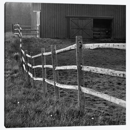Barn Fence Canvas Print #CFO2} by Chip Forelli Canvas Art