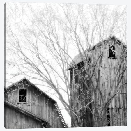 Barn Windows Canvas Print #CFO3} by Chip Forelli Canvas Artwork
