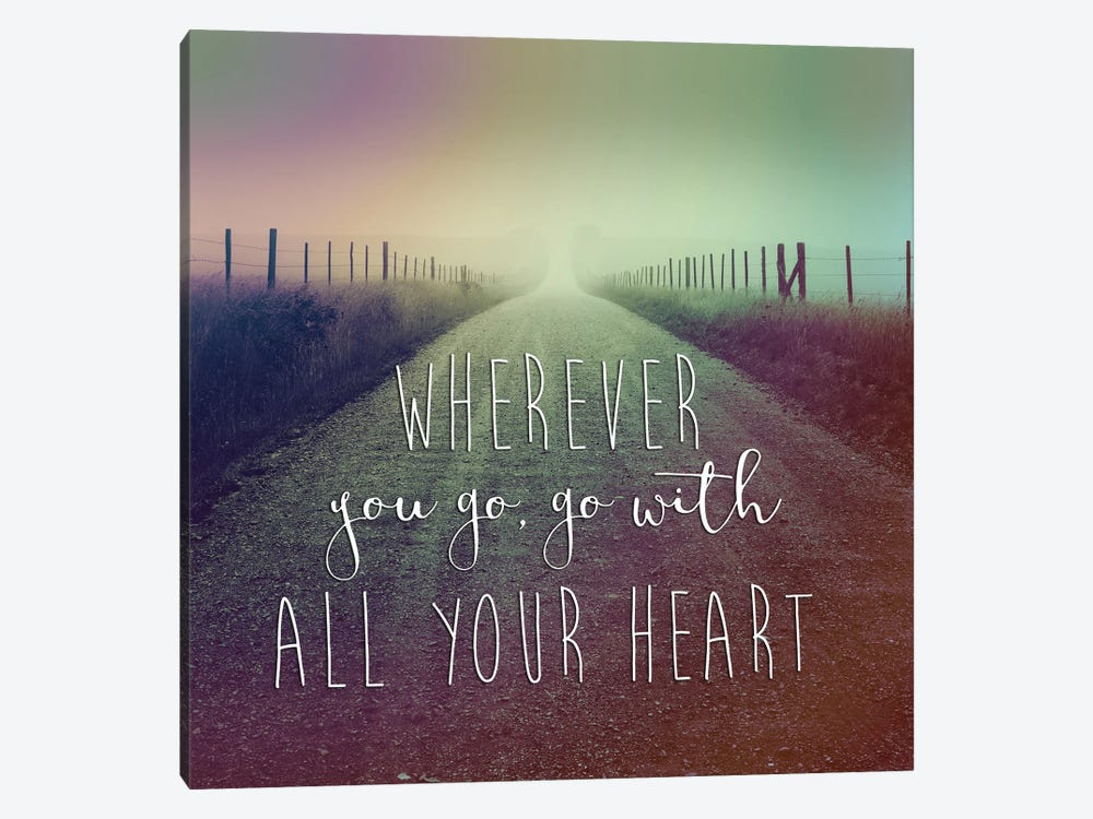 Wherever You Go by Chip Forelli 1-piece Canvas Art Print