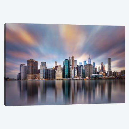 Ny Ny 2 Canvas Print #CFT10} by Carlos F. Turienzo Canvas Artwork