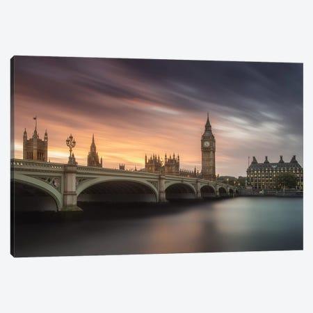 Big Ben, London Canvas Print #CFT2} by Carlos F. Turienzo Canvas Art