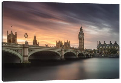Big Ben, London Canvas Art Print