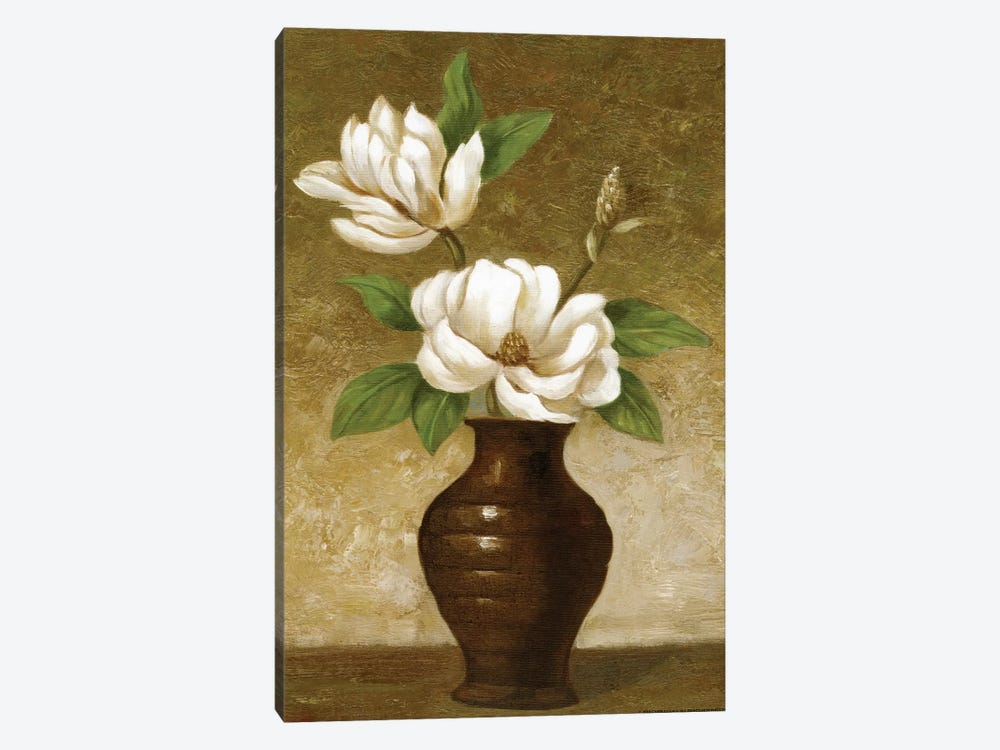 Flowering Magnolia by Charles Gaul 1-piece Canvas Art