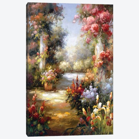 Memory Lane I Canvas Print #CGA7} by Charles Gaul Canvas Artwork