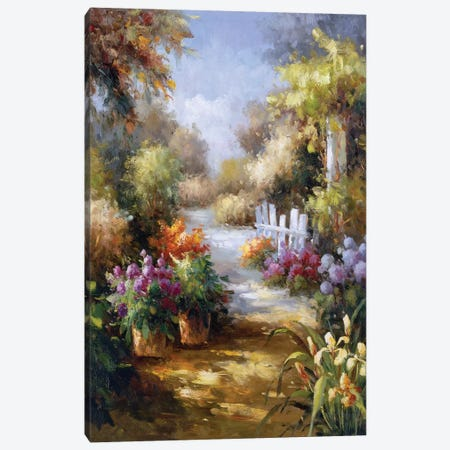 Memory Lane II Canvas Print #CGA8} by Charles Gaul Canvas Art Print