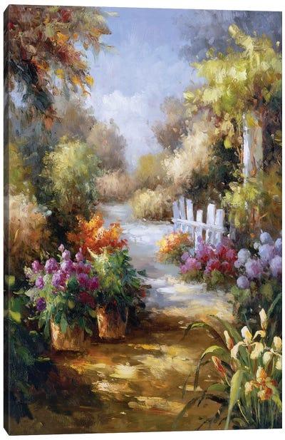 Memory Lane II Canvas Art Print