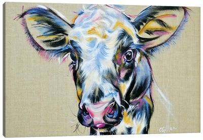 Baby Drew Canvas Art Print