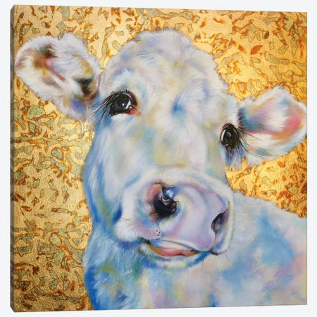 Cowmouflage1 Canvas Print #CGL56} by Carol Gillan Canvas Art