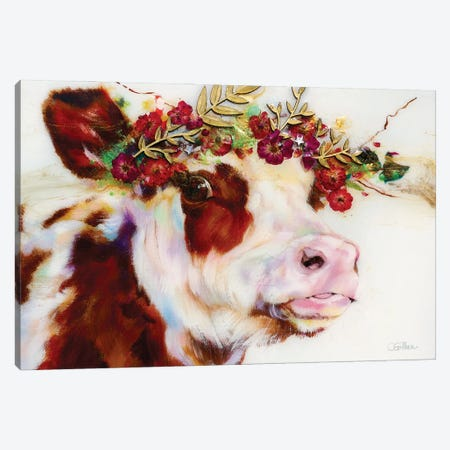 Artemis Canvas Print #CGL63} by Carol Gillan Canvas Artwork