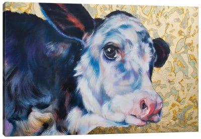 Peek Canvas Art Print