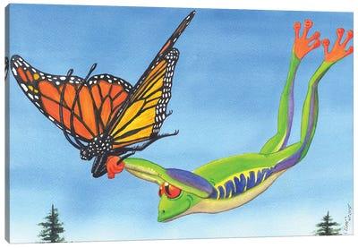 The Hang Glider Canvas Art Print