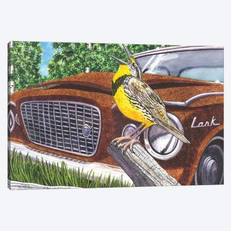 The Meadowlarks Canvas Print #CGM110} by Catherine G McElroy Canvas Artwork