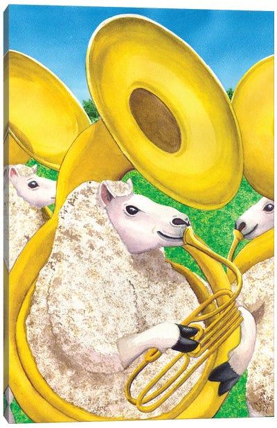 Big Horned Sheep Canvas Art Print