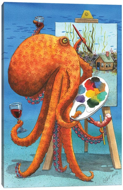 Bob Rosstopus Canvas Art Print