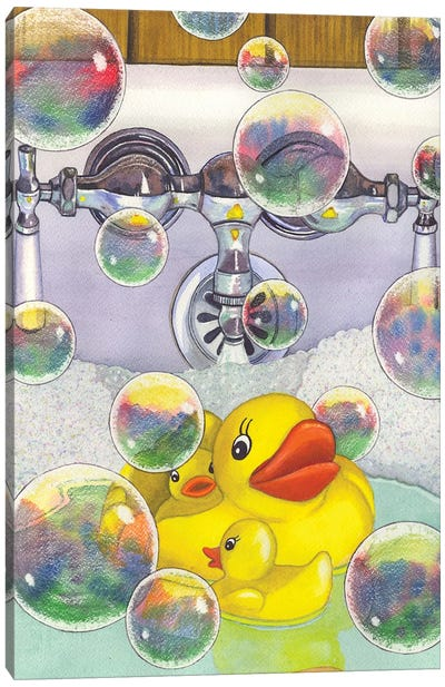 Feelin Ducky Canvas Art Print