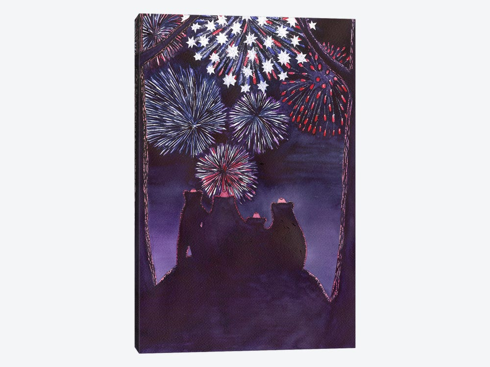 Fourth Of July by Catherine G McElroy 1-piece Canvas Artwork
