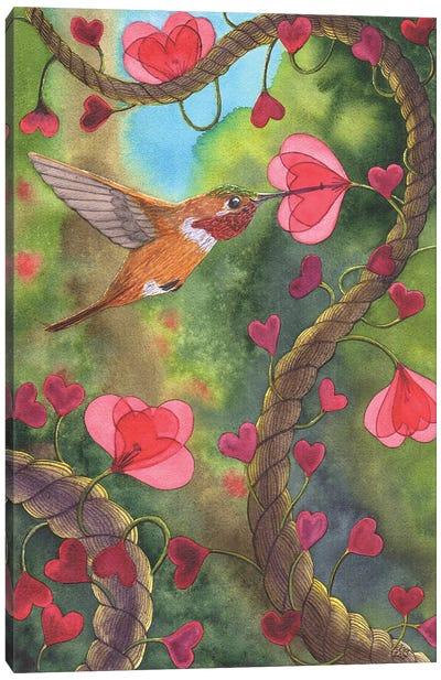 Heart Twine Canvas Art Print