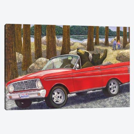 Joy Ride Canvas Print #CGM54} by Catherine G McElroy Art Print