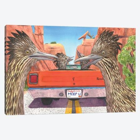 Meep Them! Canvas Print #CGM66} by Catherine G McElroy Canvas Artwork