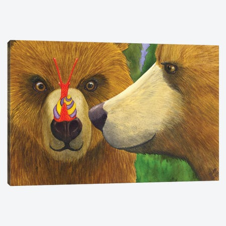 My What Big Eyes You Have! Canvas Print #CGM69} by Catherine G McElroy Canvas Print